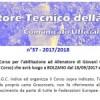 CORSO ALLENATORE PER IL SETTORE GIOVANILE POSTICIPATO AL 13 NOVEMBRE 2017